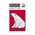 Sellos impresionantes del oso polar del AL