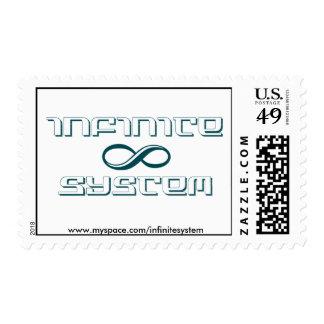 ¡Sellos infinitos del sistema!