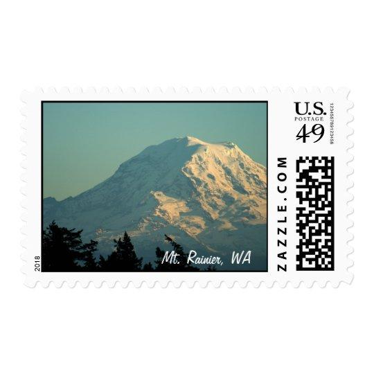 Sellos: Invierno el Monte Rainier Sello Postal