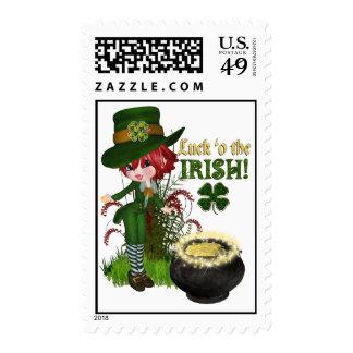 Sellos irlandeses del o'the de la suerte