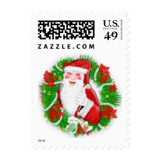 Sellos lindos de Papá Noel