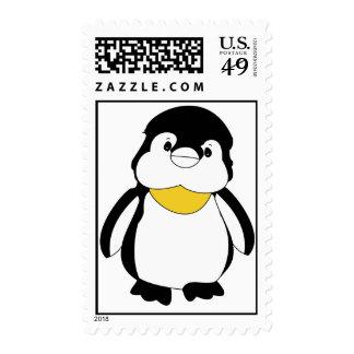 Sellos lindos del pingüino