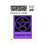 Sellos paganos de Wiccan del correo de Magickal