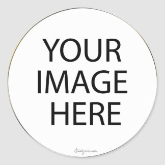Sellos/pegatinas redondos de encargo del sobre etiquetas redondas