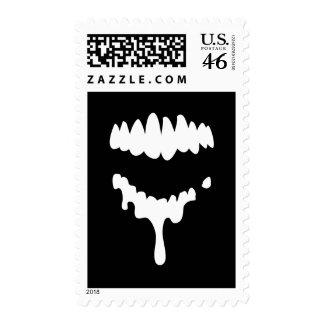Sellos perdidos de los dientes de los zombis