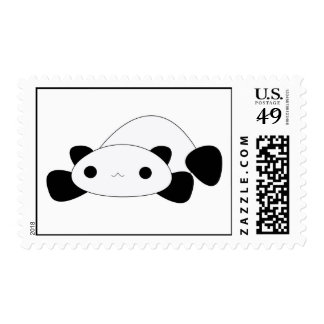 Sellos perezosos de la panda del kawaii lindo