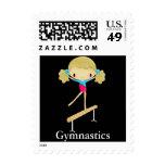 Sellos personalizados de la gimnasia