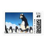 Sellos polares del pingüino