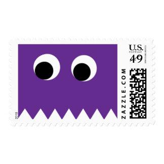 Sellos púrpuras de Halloween del fantasma