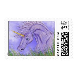 Sellos púrpuras del unicornio