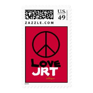 Sellos rojos del amor JRT de la paz