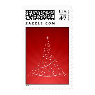 Sellos (rojos) del árbol de navidad