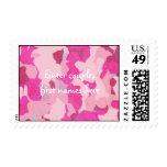 Sellos rosados del personalizado de Camo