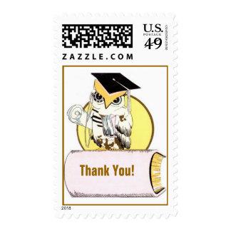 Sellos sabios del correo del sello de la graduació