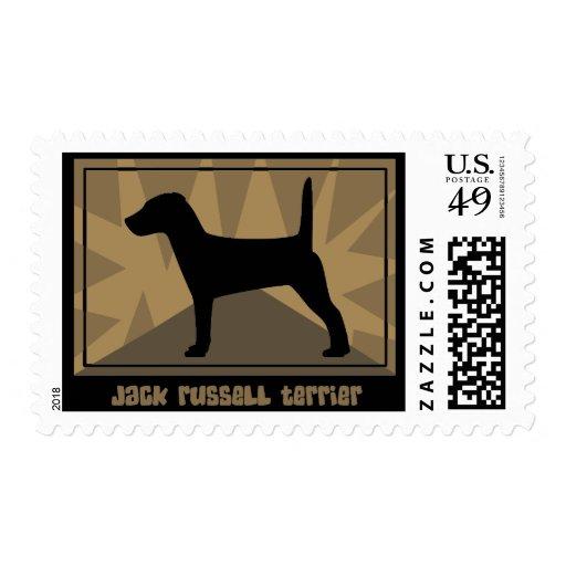 Sellos terrosos de Jack Russell Terrier