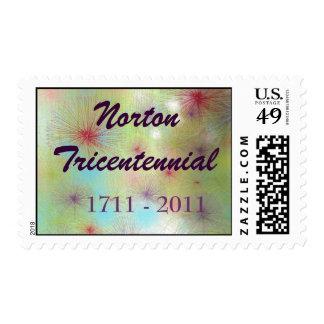 Sellos Tricentennial de Norton