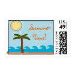 Sellos tropicales del tiempo de verano