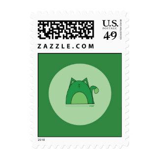 Sellos verdes del gato - sellos verdes del gato de