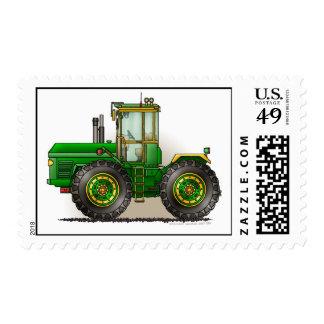 Sellos verdes del tractor del monstruo