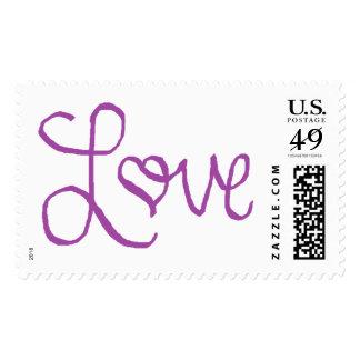 Sellos violetas del amor