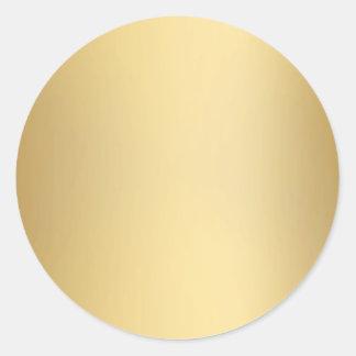 Sellos y pegatinas del oro