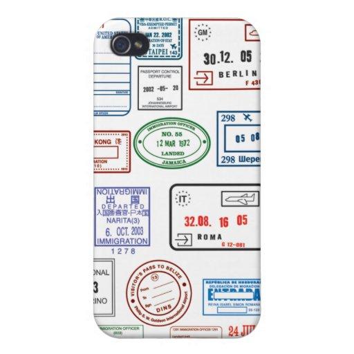 Sellos y sellos iPhone 4 funda