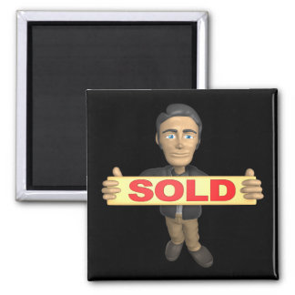 Sellout 2 Inch Square Magnet