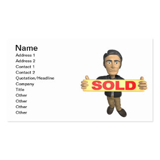 Sellout Business Card
