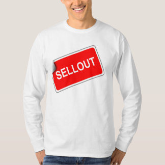 Sellout Long Sleeve White T-Shirt