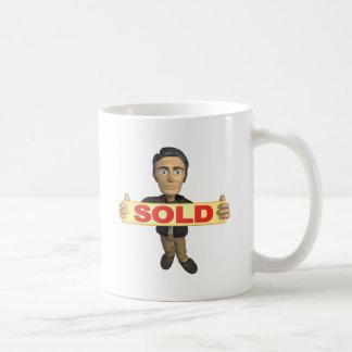 Sellout Classic White Coffee Mug