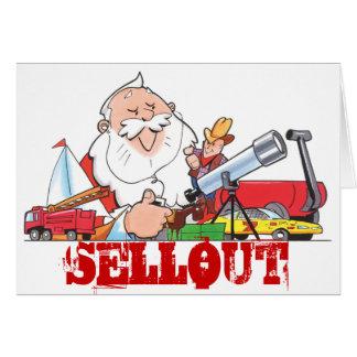 Sellout Santa Card
