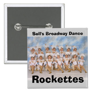 Sell's Broadway Dance Rockettes Button