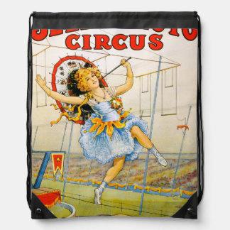 Sells Floto Circus Drawstring Backpack