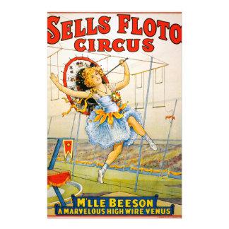 Sells Floto Circus Stationery