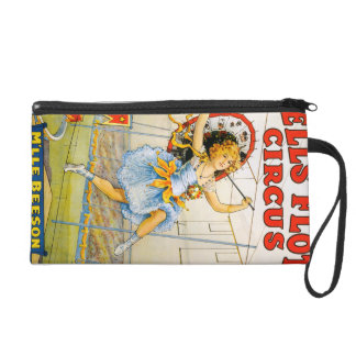 Sells Floto Circus Wristlet Purse