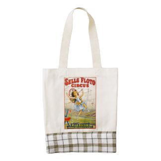 Sells Floto Circus Zazzle HEART Tote Bag