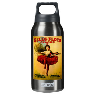 Sells Floto Wire Dancer Circus Princess Victoria Insulated Water Bottle