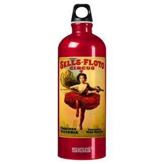 Sells Floto Wire Dancer Circus Princess Victoria SIGG Traveler 1.0L Water Bottle