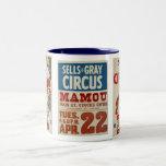Sells & Gray Circus Two-Tone Coffee Mug