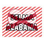 Selma, Alabama Tarjeta Postal