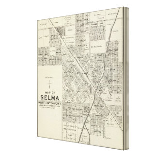 Selma, California Canvas Print