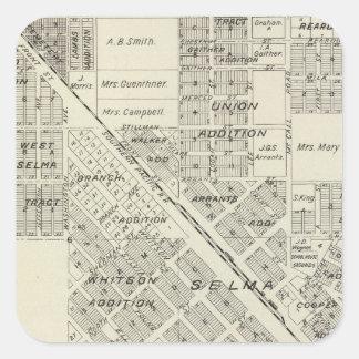 Selma, California Square Sticker