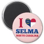 Selma, Carolina del Norte Imán Para Frigorífico