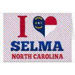 Selma, Carolina del Norte Tarjeta