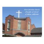 Selma First Christian Church Postcard