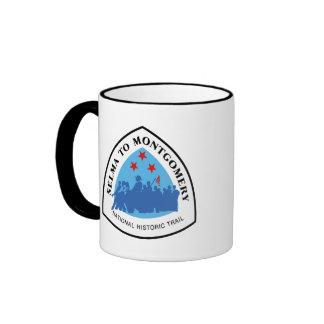 Selma to Montgomery Trai Ringer Coffee Mug