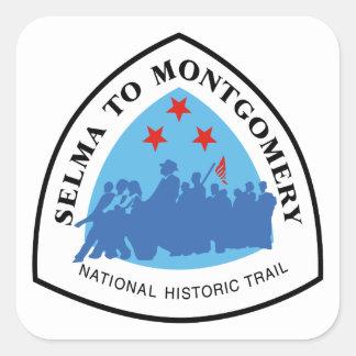 Selma to Montgomery Trai Square Sticker