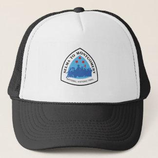 Selma to Montgomery Trail Sign, Alabama Trucker Hat