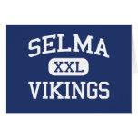 Selma Vikingos Selma medio Carolina del Norte Tarjetón