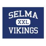 Selma Vikingos Selma medio Carolina del Norte Tarjetas Postales